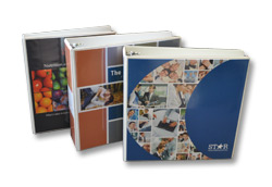 Custom Vinyl Binders - Economical and Adaptable