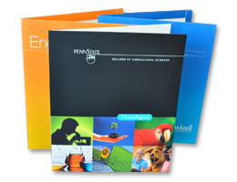 Custom Reinforced Presentation Folders
