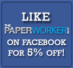 Like ThePaperWorker and Save 5% Off Your Entire Purchase!